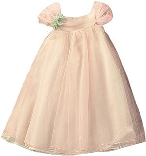 ee0b885cb Hongyuangl Vestido de niña de Flores de Tul Vestido de Verano sin Mangas  A-Line