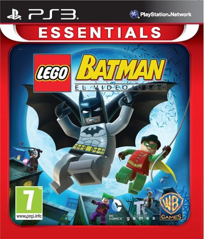 PS3 LEGO BATMAN : THE VIDEO GAME EU