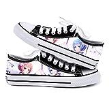 GMANKEE Zapatillas Hombre Zapatillas Casual Zapatos De Lona Zapatos Mujer Anime...