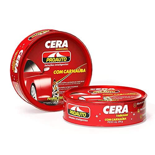 Cera Pasta com Carnaúba Proauto