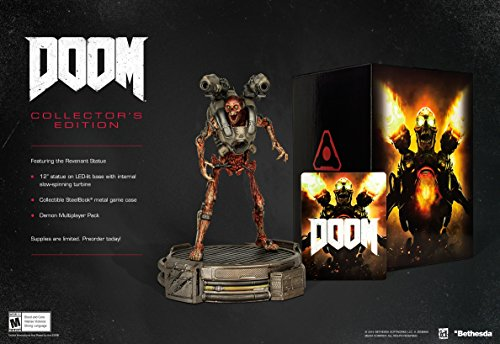 Doom: Collector's Edition - Xbox One by Bethesda