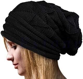 Winter Hats Newest Hot Women Knit Oversize Beanie Warm Winter Hat Ski Chic Cap Skull Fresh Fashion Autumn Girl