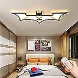 WJLL Moderne LED Deckenleuchte Kinderzimmer Cartoon Batman