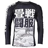 Tatami Rashguard Essential Camo - Camiseta de compresión para Hombre (Manga Larga), Color...