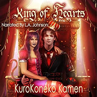 King of Hearts: A Wonderland Story audiobook cover art