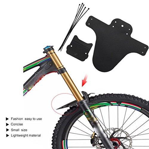 Jaysis 1 Paar Fahrrad Leichteste MTB Schmutzfänger Reifen Schutzblech Für Fahrrad Mountainbike Fender