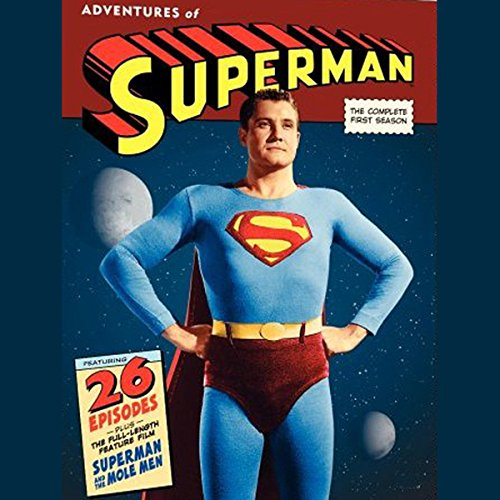 Adventures of Superman, Vol. 1 audiobook cover art