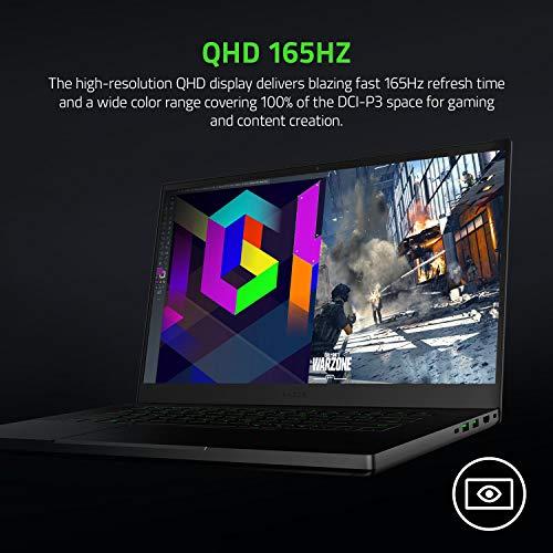 Razer Blade 15 Base Gaming Laptop 2021: Intel Core i7-10750H 6 Core, NVIDIA GeForce RTX 3070, 15.6