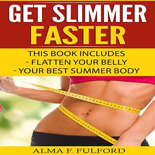 Get Slimmer Faster audiobook cover art
