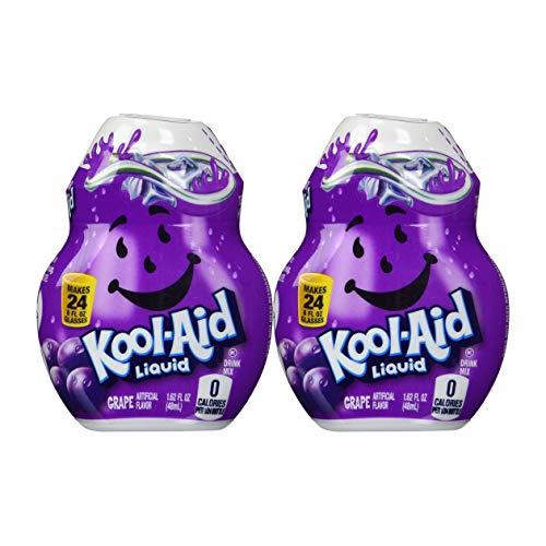 Kool-Aid Liquid Drink Mix, Grape, 1.62 FL OZ (8)