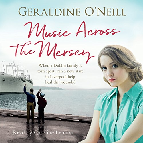 Music Across the Mersey audiobook cover art