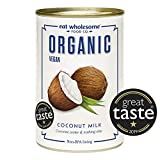 Eat Wholesome Organic Coconut Milk with No Guar Gum, 400 ml (Pack of 4)