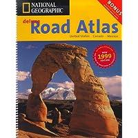 Road Atlas 1999: USA/Canada/Mexico (NG road atlases)