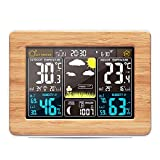 Konesky Stazione Meteo Wireless, barometro termometro Temperatura Digitale Interna umidit�...
