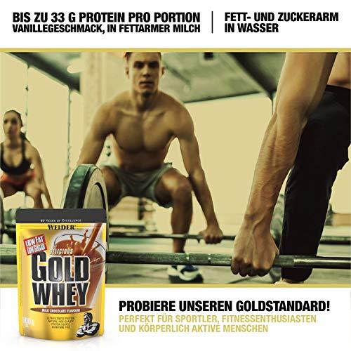 Weider Gold Whey, Milk Chocolate/Schokolade, 1er Pack (1x 500g) - 4