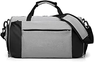 Travel Bag Rooftop Rack Bag Gym Bag with Shoes Compartment and Wet Dry Storage Pockets Travel Duffel Bag High Capacity for Men and Women