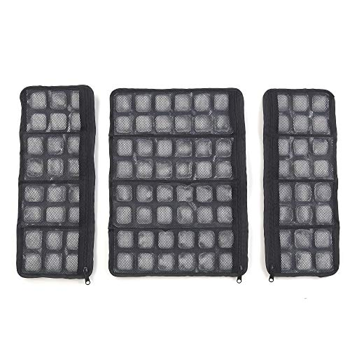 FlexiFreeze Ice Vest Replacement Panels, Black