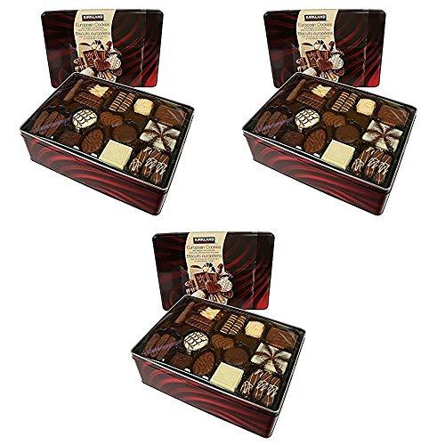 Kirkland Signature European Cookies with Belgian Chocolate, 49.4 Ounce Pack of 3
