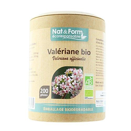 Nat & Form - NAT&FORM VALERIANE BIO 200 GELULES