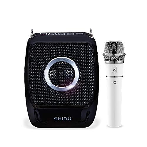 S92 Mini Draagbare, oplaadbare stemversterker, PA-systeemluidspreker met UHF-compacte handmicrofoon voor karaoke, leraars, reistad, trainer