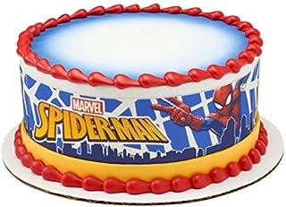 Spiderman Superhero Edible Cake Border - Set of 3 Strips