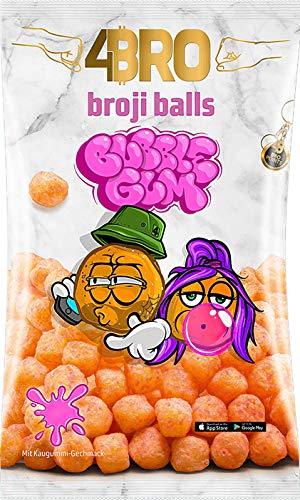 4Bro - Broji Balls Bubble Gum 75g Maisbällchen | der Eistee für Gamer. Shisha und Eis Tee Liebhaber