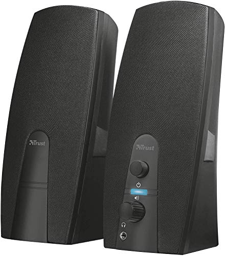 Trust Almo 2.0 PC Speakers for Computer and Laptop, 10 W, USB Powered,...