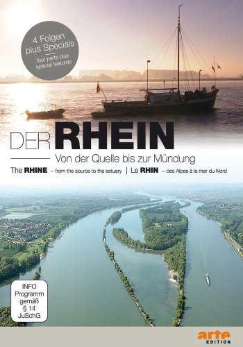 Der Rhein - Von der Quelle bis zur Mündung [2 DVDs]