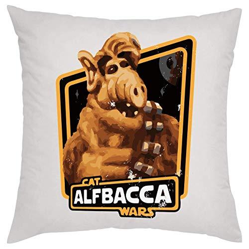 NoMoreFamous Alf Cat Alfbacca Wars Kissen Pillow