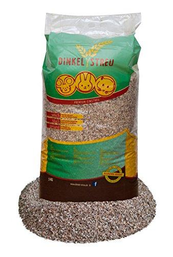 15 kg Dinkel Einstreu für alle Nager besonders Pfotenschonend
