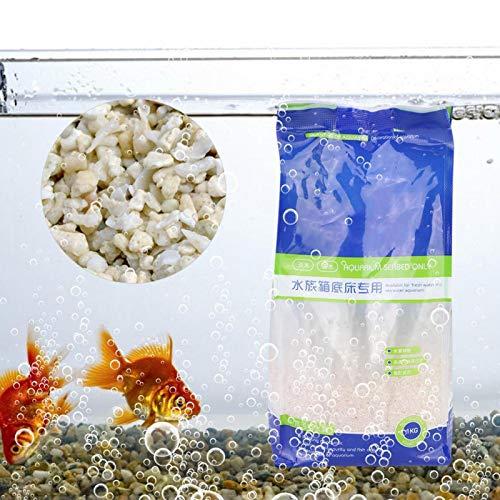 SALUTUYA Flusssand für Aquarium Umweltfreundlich für Tank