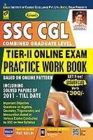 Kiran?s SSC CGL Tier II Online Exam Practice Work Book English - 2309