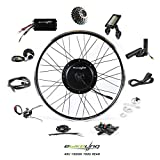 9. EBIKELING 48V 1500W 700C Direct Drive Rear Waterproof Electric Bicycle Conversion Kit (Rear/LCD/Thumb)