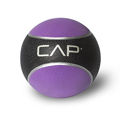CAP Barbell Rubber Medicine Ball, 4-Pound