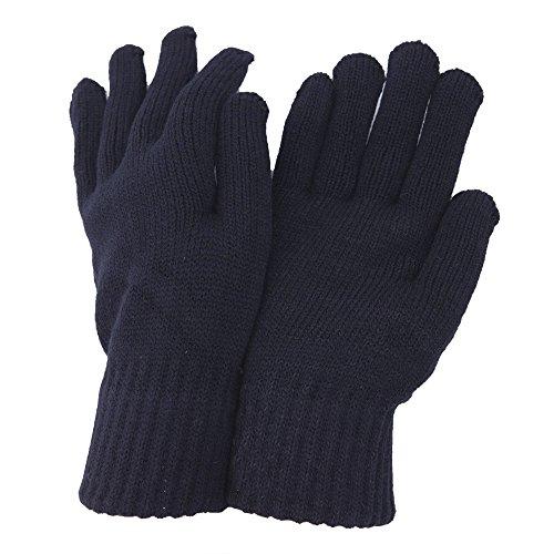 Liquidation: gants thermique pour homme (Taille unique) (Bleu marine)