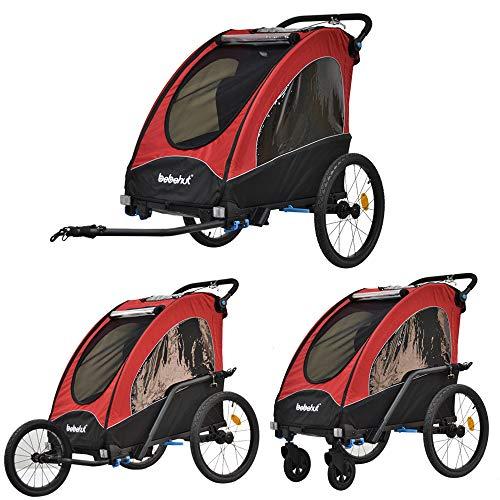 TIGGO World Aluminio Remolque de Bici para niños Remolque d