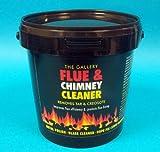Hygiene4less Flue & Chimney Cleaner - 4 x 750g Buckets - Removes Tar