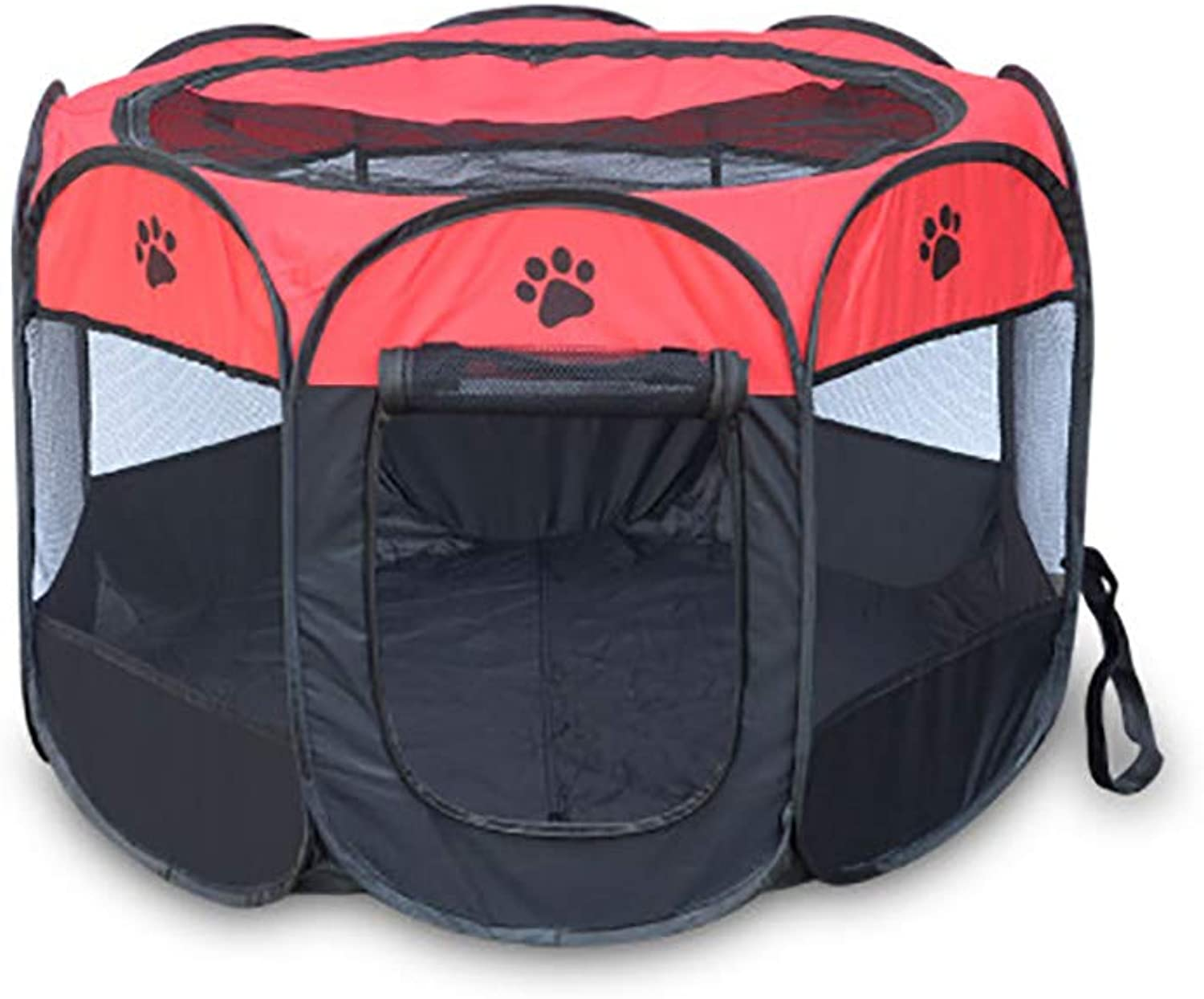 Cats and Dogs Housing fold Easy to Carry Outdoor pet nest (color   B3, Size   73  73  43CM)
