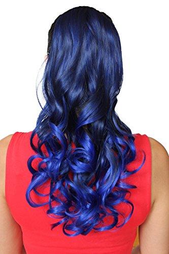 PRETTYSHOP Haarteil hairpiece Zopf Pferdeschwanz Haarverlängerung 60cm gewellt diverse Farben HCB2-1
