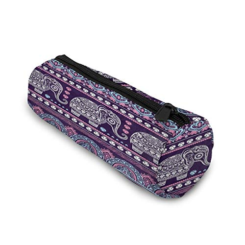 ❤Material:Pen Case Is Made Of Soft And Comfortable Canvas, Which Is Wear-resistant, Lightweight And Compact.Dimension:8x3x3 Inch ❤Multifunctional: Pencil Holder Can Be Used As Pencil Case, Coin Purse, Makeup Pouch,cosmetic Bags, Glasses Case And Much...
