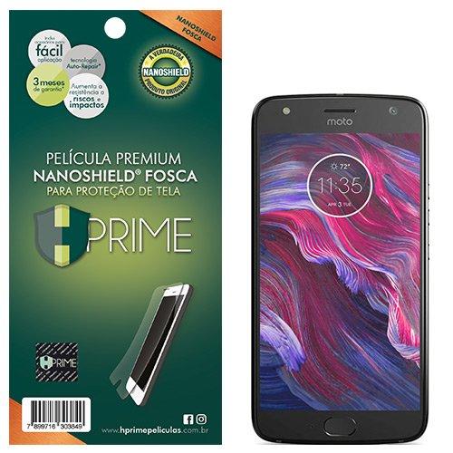 Pelicula HPrime NanoShield Fosca para Motorola Moto X4, Hprime, Película Protetora de Tela para Celular, Transparente