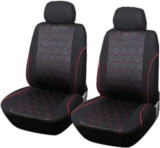 Wakauto 4 peças de capas de assento de carro com encosto alto, ajuste universal, almofada de assento de automóvel, acessór...