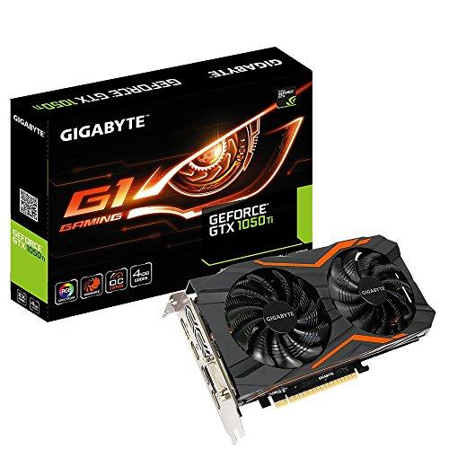 Gigabyte geforce GTX 1050 ti g1 Gaming 4g gv-n105tg1 gaming-4gd - Tarjeta Grafica