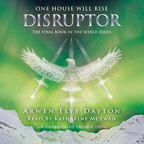 Disruptor audiobook cover art