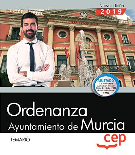 Ordenanza. Ayuntamiento de Murcia. Temario