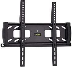 Monoprice Fixed TV Wall Mount Bracket - for TVs 32in to 55in Max Weight 99lbs VESA Patterns Up to 400x400 Security Brackets UL Certified