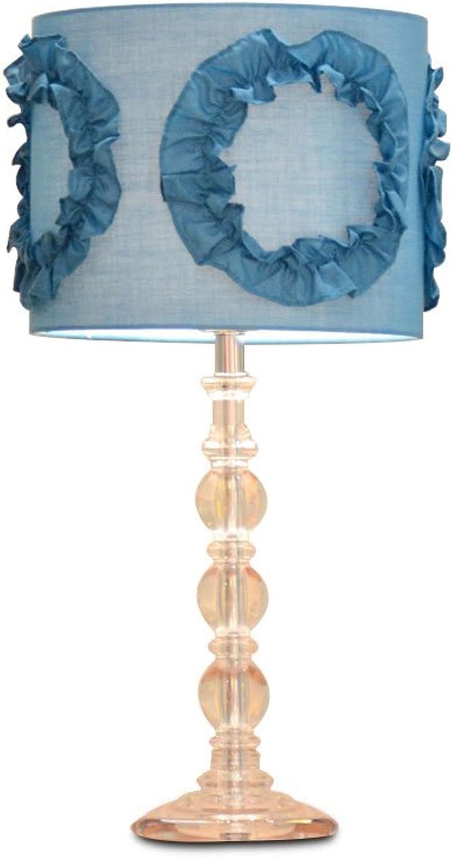 Europäische und amerikanische Mode Kristall Nachttischlampen moderne Hochzeit Ideen europäischen Tischlampe Kinder Schlafzimmer Nachttischlampen B07FKJD49K     | Neuheit