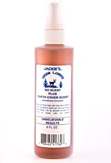Jackies Deer Lures No Scent Plus Earth Scent Cover