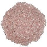 Rosenquarz 250 Gramm mini Edelsteine Trommelsteine Lade Steine Größe: ca. 5-12 mm schöne rosa...