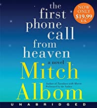 The First Phone Call From Heaven Low Price CD: A Novel